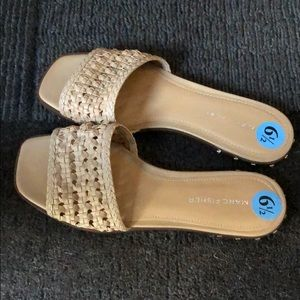 🤩NWOT MARC FISHER WOMEN'S NUDE SANDALS|Size 6.5🤩